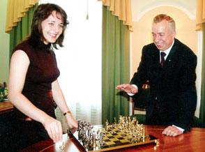 Катя Лагно сыграла партию с донецким мэром