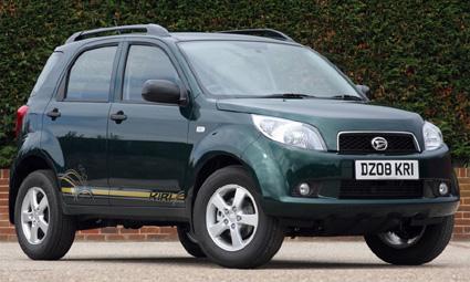 Daihatsu выпускает ограниченную версию внедорожника Terios