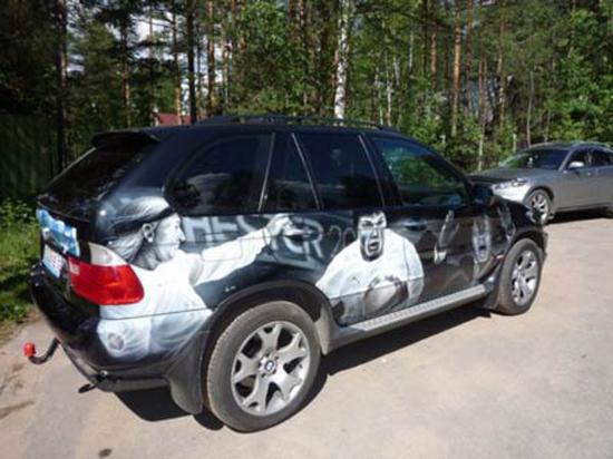 Владелец элитного внедорожника превратил BMW X5 в