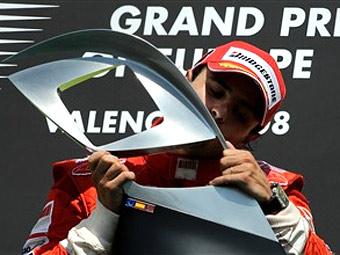 Гран-При Европы выиграл Филипе Масса