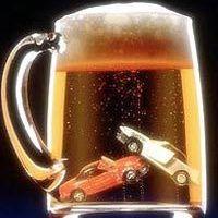 Пьяный полисмен за рулем