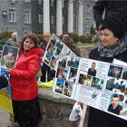 Жертвы ДТП уверены, что аппарат мента Фирса коррумпирован (Фоторепортаж)