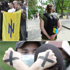 В Донецке заявили о себе юные «защитники Naции»