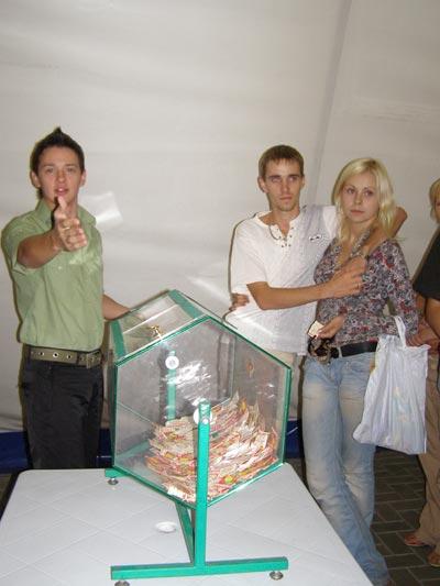 Первый розыгрыш подарков в рамках акции «Каток! Лето! Подарки!»