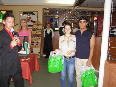 Третий розыгрыш подарков в рамках акции «Каток! Лето! Подарки!»